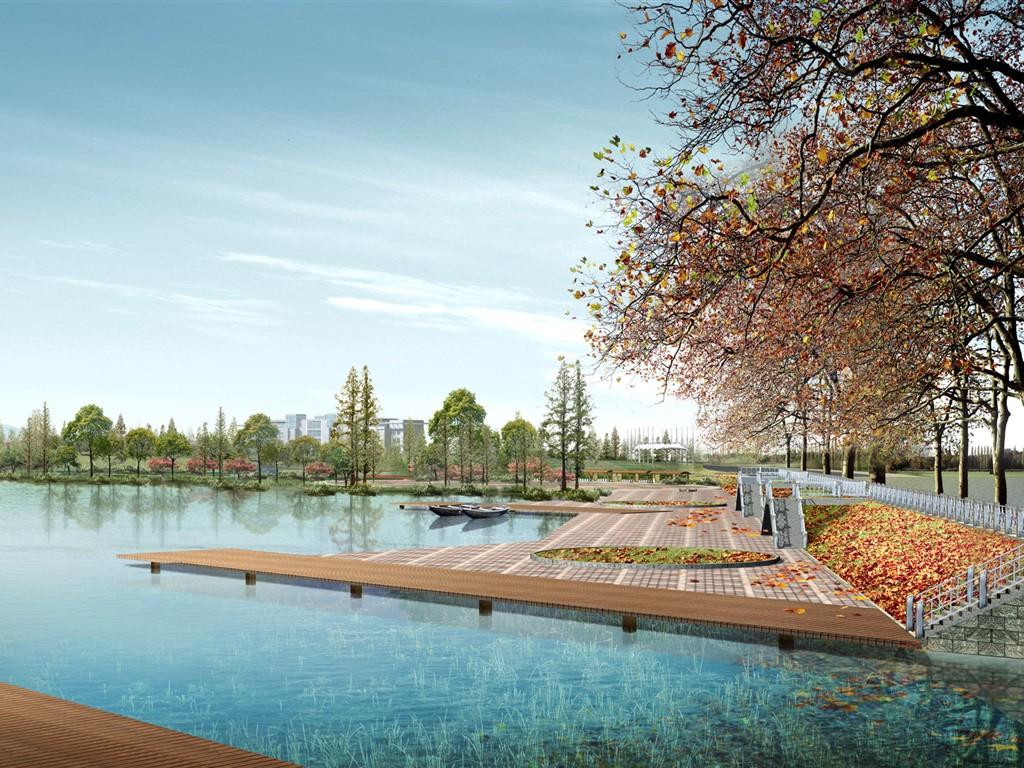 Efecto de los fondos de pantalla hd arquitectura del for Arquitectura del paisaje