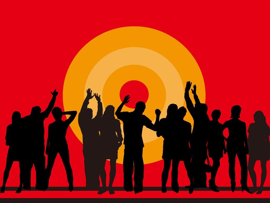 silueta 1 14 1024x768 descripción vectores iconos de personas silueta ...