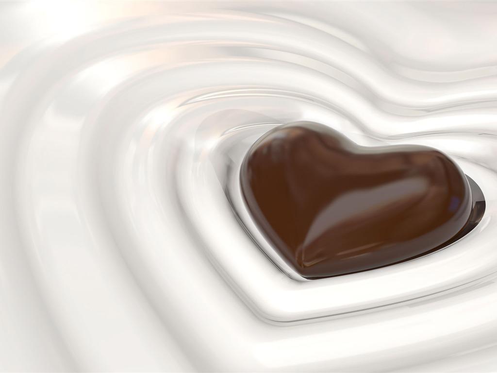 Fondos De Pantalla De Chocolates: Chocolate Plano De Fondo (2) #9
