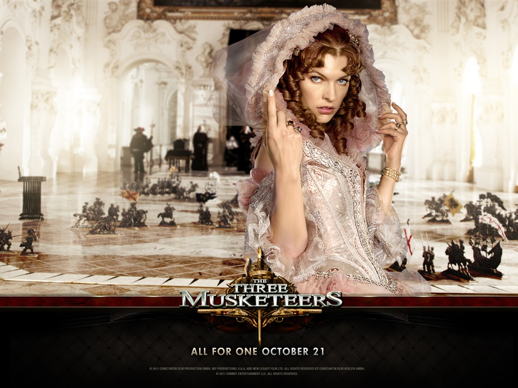 2011 Die drei Musketiere wallpapers #11 - 1024x768 Wallpaper ... Milla Jovovich