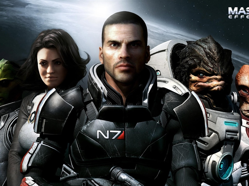 Mass Effect 3 HD обои #16 - 1024x768