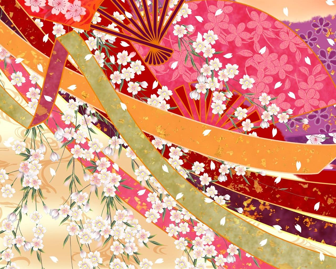 Япония стиль картины и цвет обои 12