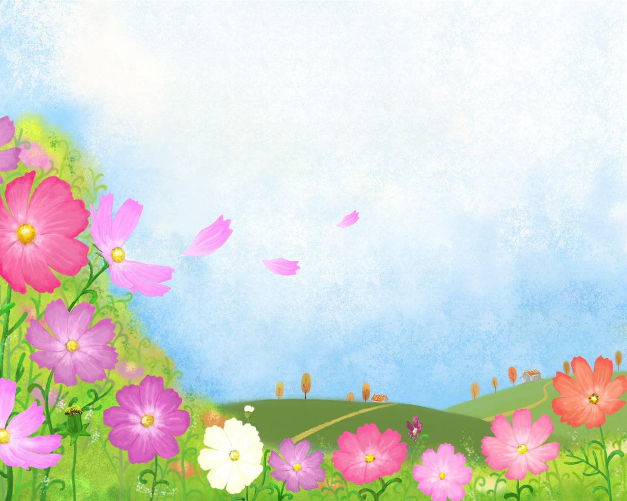 fondo de pantalla dibujos animados: