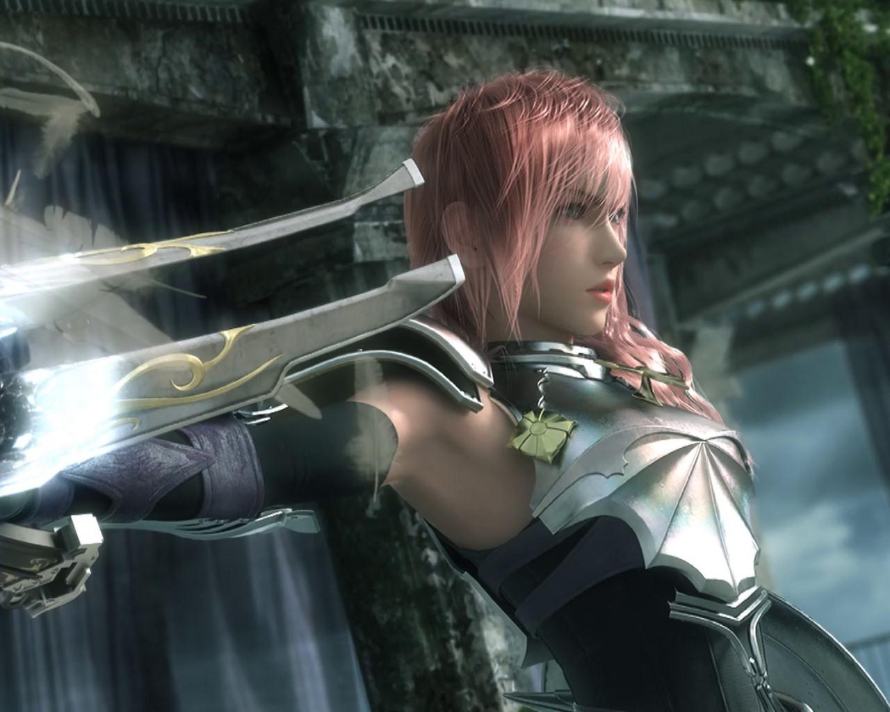 最终幻想13视频_Final Fantasy XIII-2 最终幻想13-2 高清壁纸2 - 1280x1024 壁纸下载 - Final ...