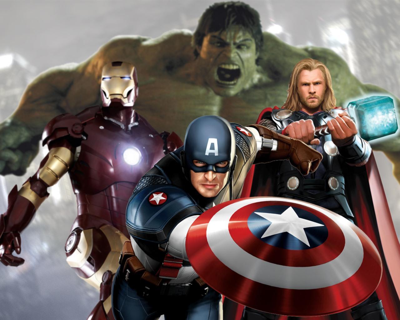 Les fonds d 39 cran hd 2012 avengers 2 1280x1024 fond d - Avengers 2 telecharger ...