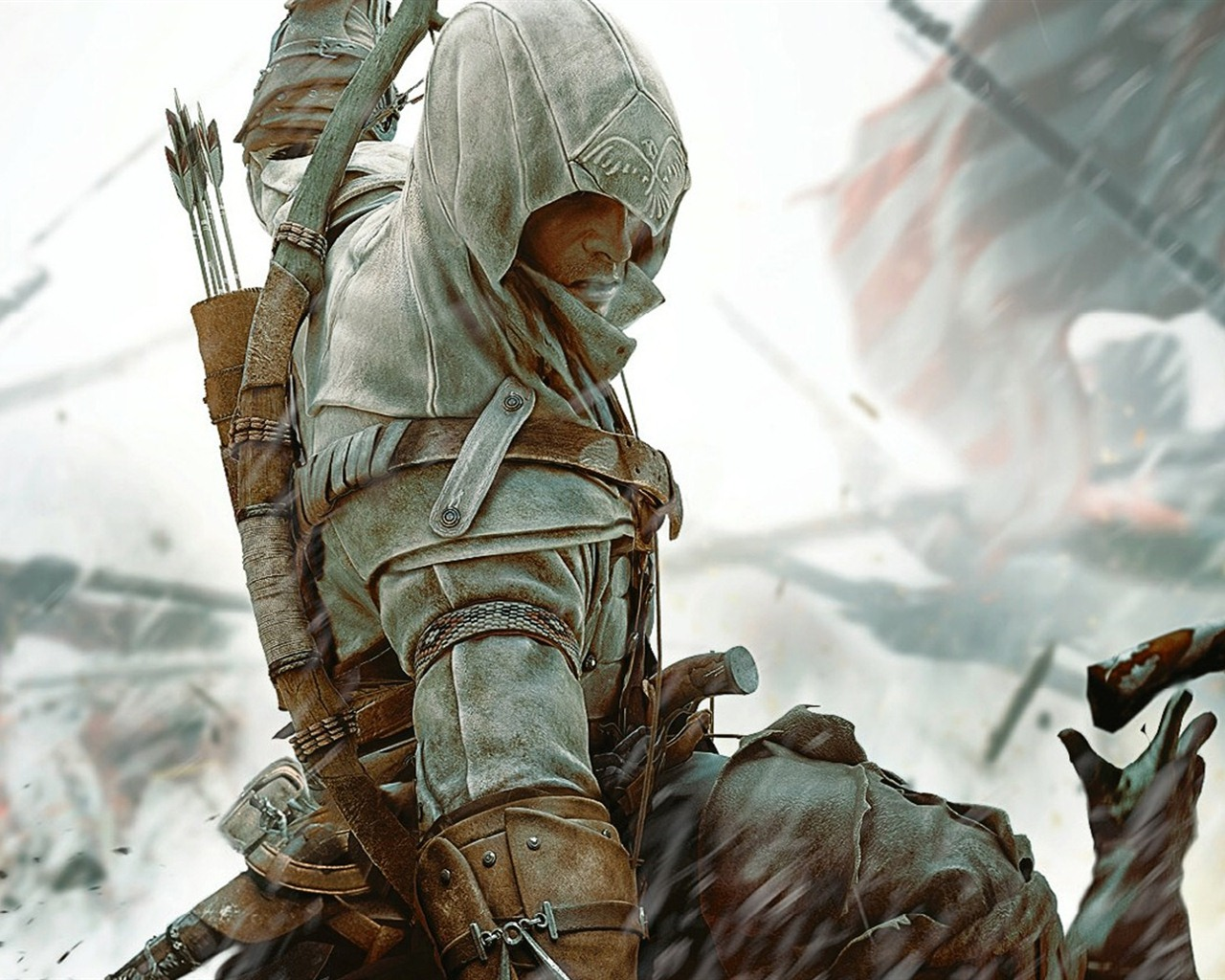 Assassin's Creed 3 HD wallpapers #18 - 1280x1024