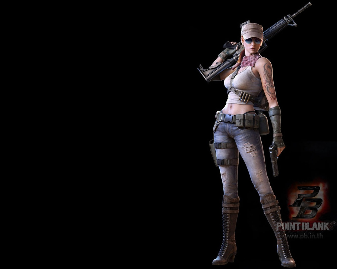 Point Blank Hd Game Wallpapers 18 1280x1024 Wallpaper