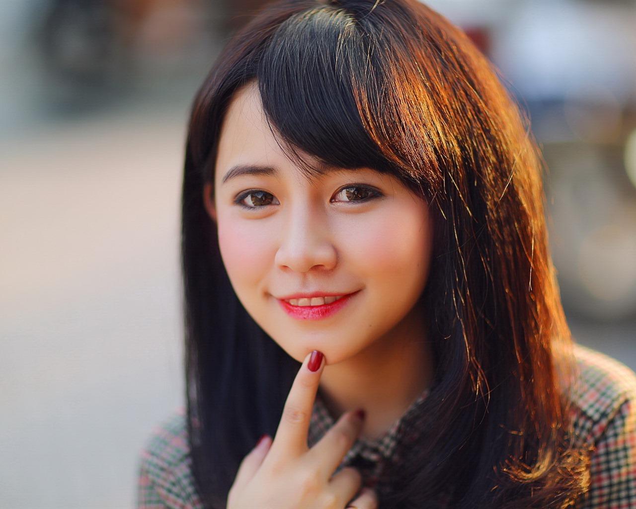 亚洲高清合集一区_清纯可爱年轻的亚洲女孩 高清壁纸合集(一)1 - 1280x1024