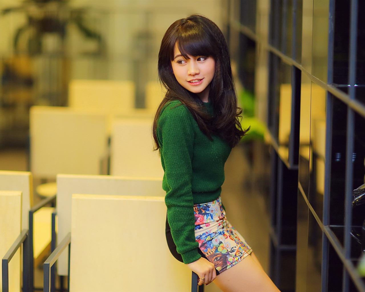 亚洲高清合集一区_清纯可爱年轻的亚洲女孩 高清壁纸合集(四)19 - 1280x