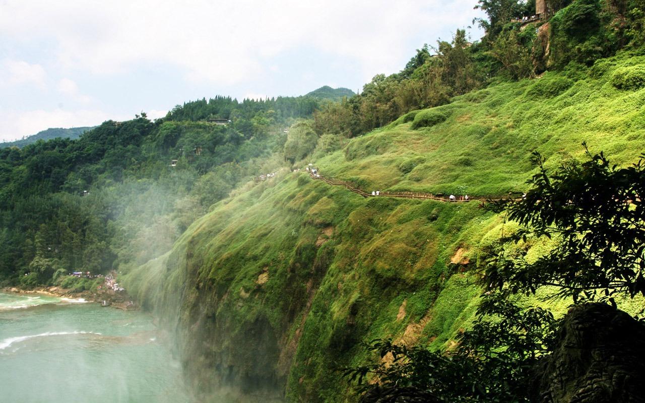 黄果树瀑布 明湖水杉作品 7 1280x800 壁纸下载 黄果树瀑高清图片