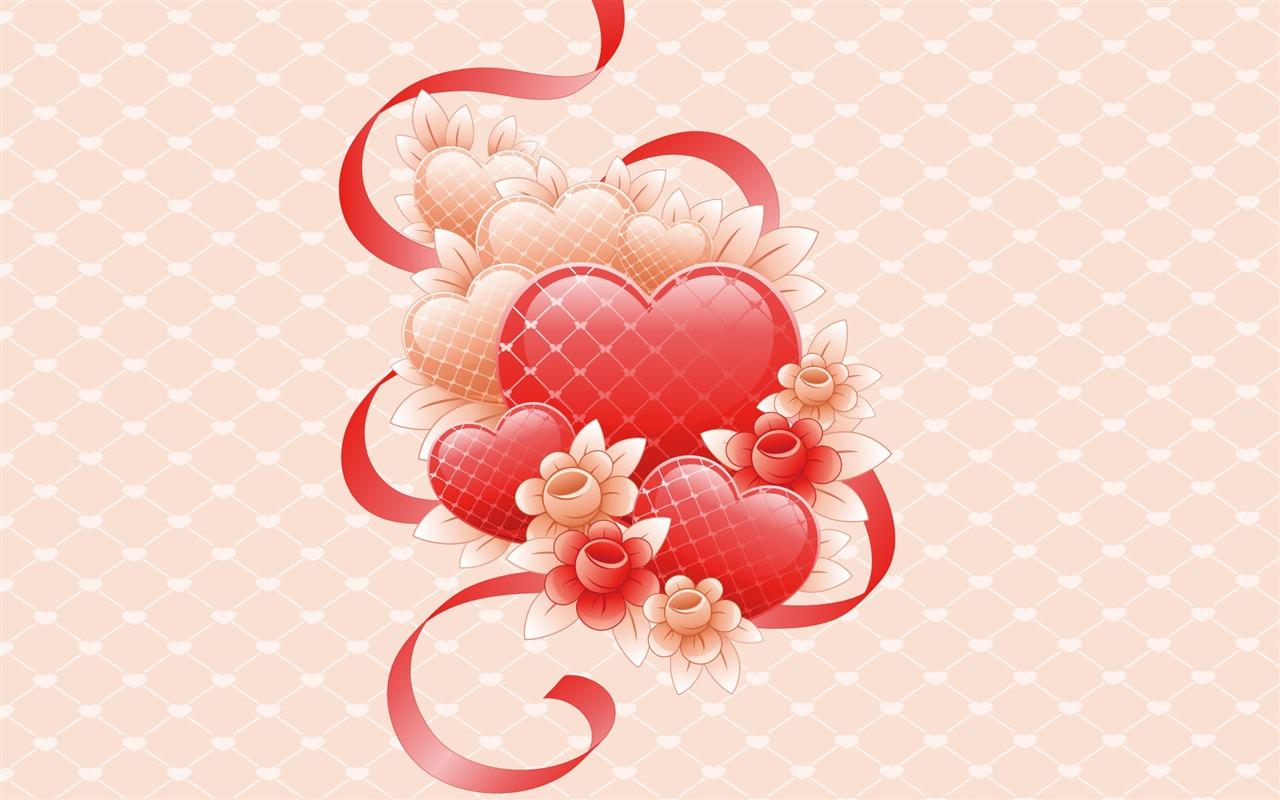 Открытка на день всех влюблённых