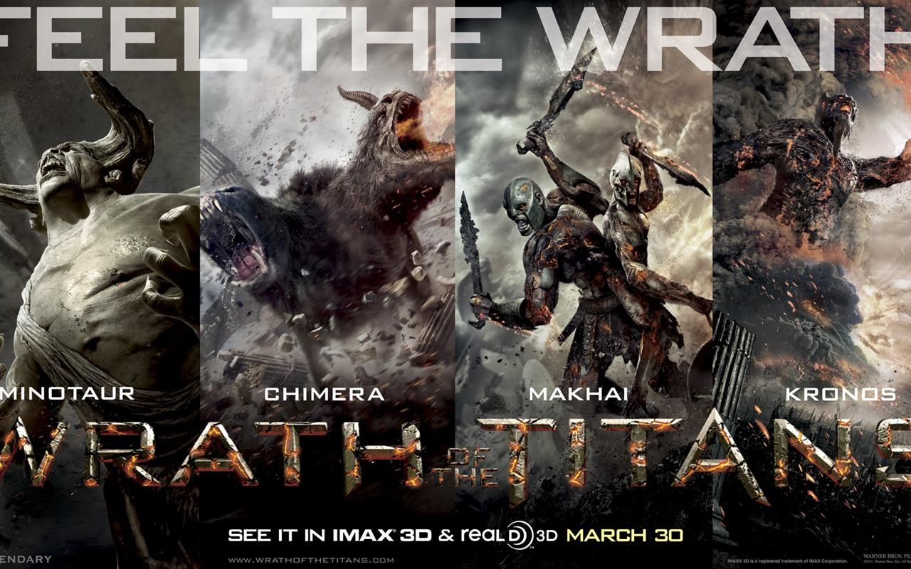 wrath of the titans 诸神之战2 高清壁纸11 - 1280x800