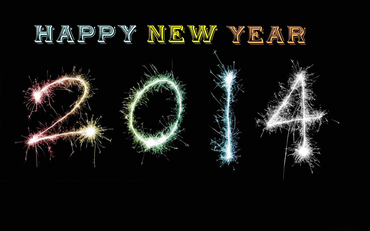 2014 New Year Theme HD Wallpapers (2) #12 - 1280x800