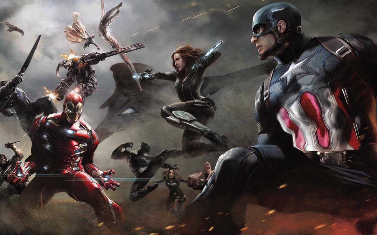 captain america: civil war 美国队长3:内战 高清壁纸3 - 1280x800