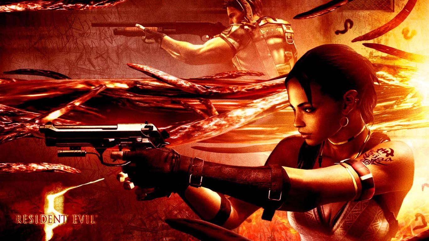 Resident Evil 5 Wallpaper Album 8 1366x768 Wallpaper Download