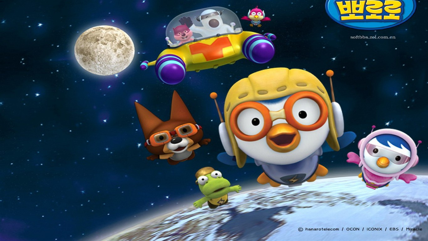 Pororo cartoon wallpapers 6 1366x768 wallpaper download pororo cartoon wallpapers 6 1366x768 thecheapjerseys