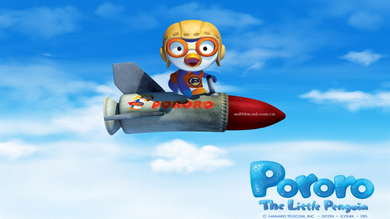 Pororo cartoon wallpapers 7 1366x768 wallpaper download pororo cartoon wallpapers 7 1366x768 thecheapjerseys