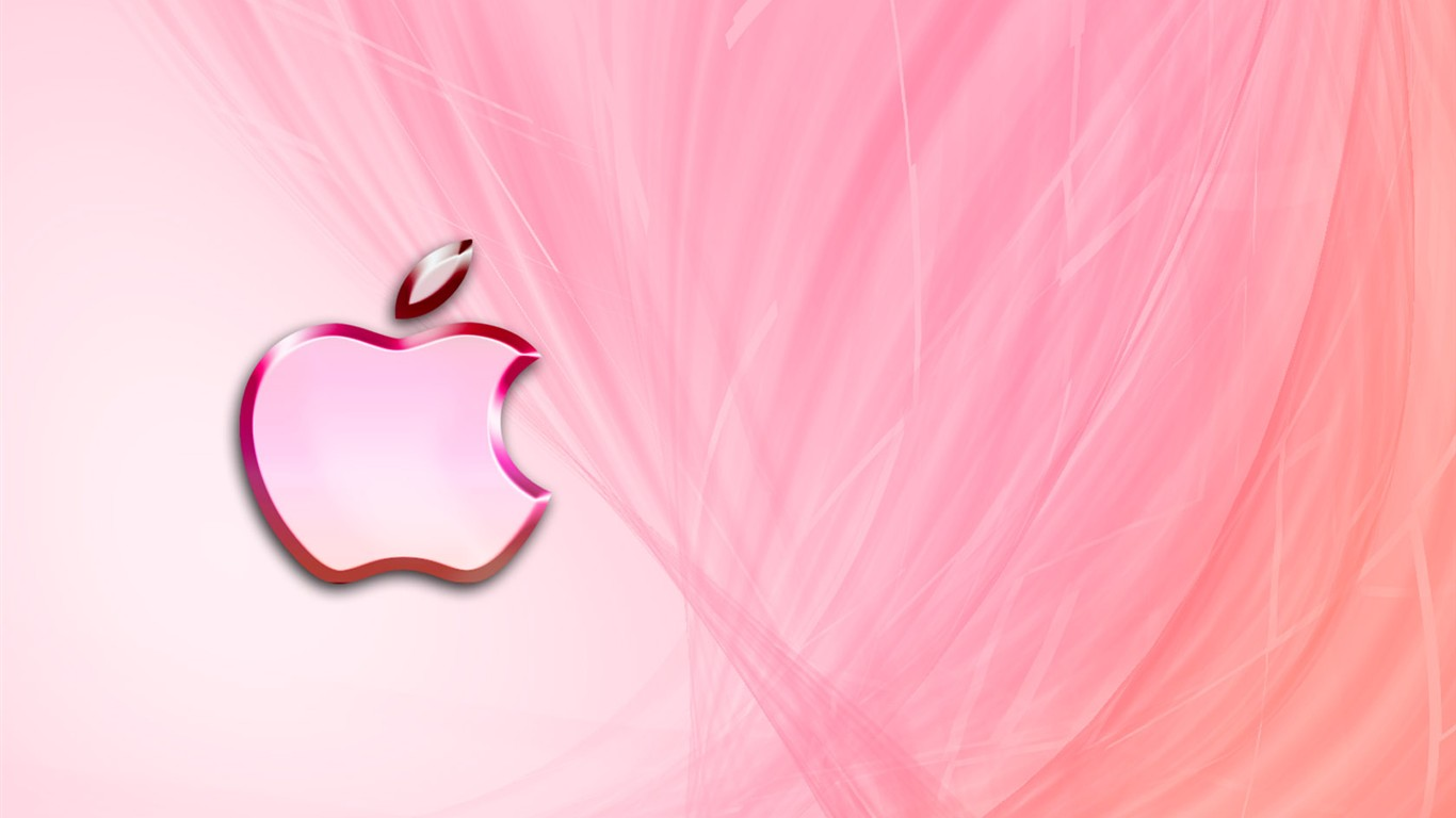 Fond d 39 cran apple design creative 28 1366x768 fond d for Fond d ecran 6k