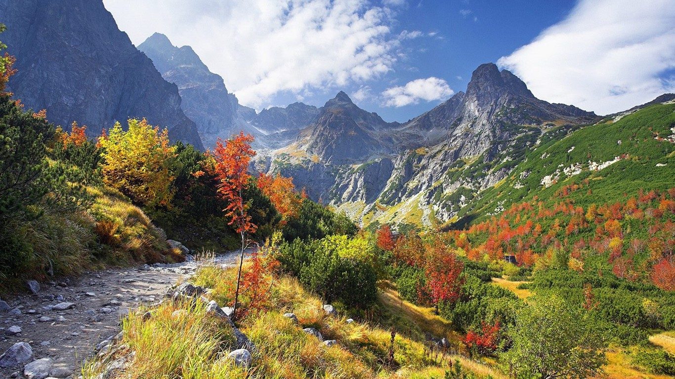 Fond d 39 cran paysages superbes albums 24 1366x768 fond for Fonds ecran paysages superbes