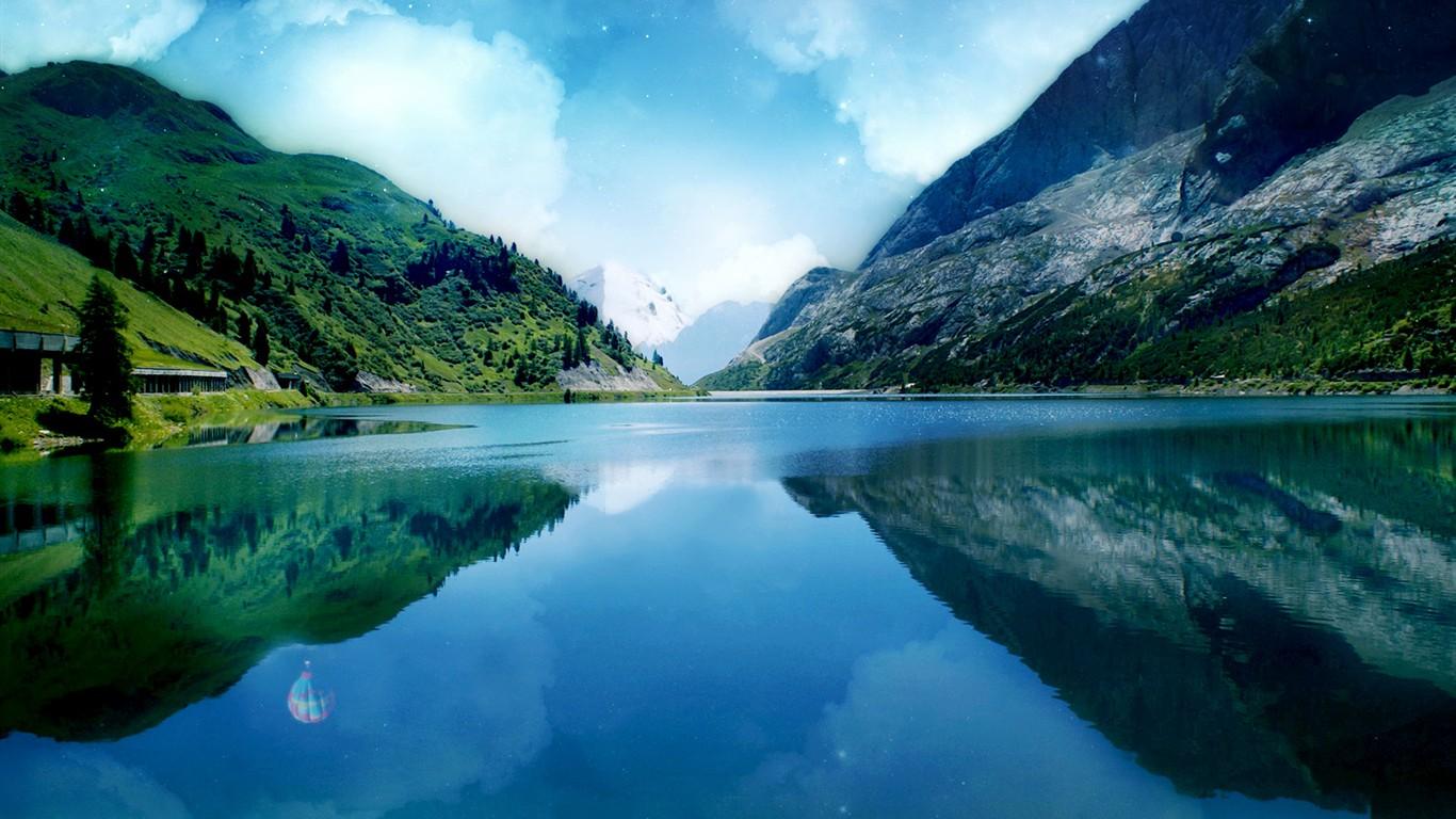 Beautiful Landscape Wallpapers 1 1366x768 Wallpaper