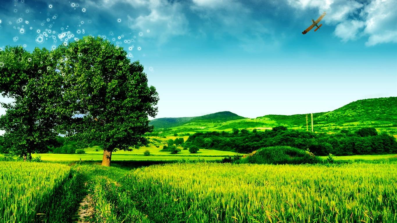 beautiful landscape wallpapers 23 1366x768 wallpaper