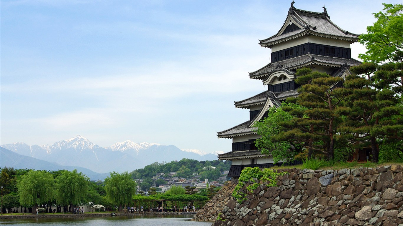 kyoto japon fonds d 39 cran paysage 25 1366x768 fond d 39 cran t l charger kyoto japon. Black Bedroom Furniture Sets. Home Design Ideas