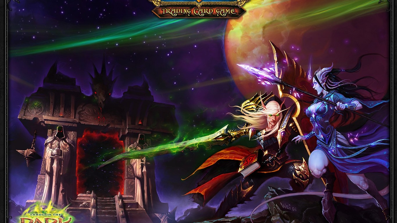 World Of Warcraft The Burning Crusades Official Wallpaper