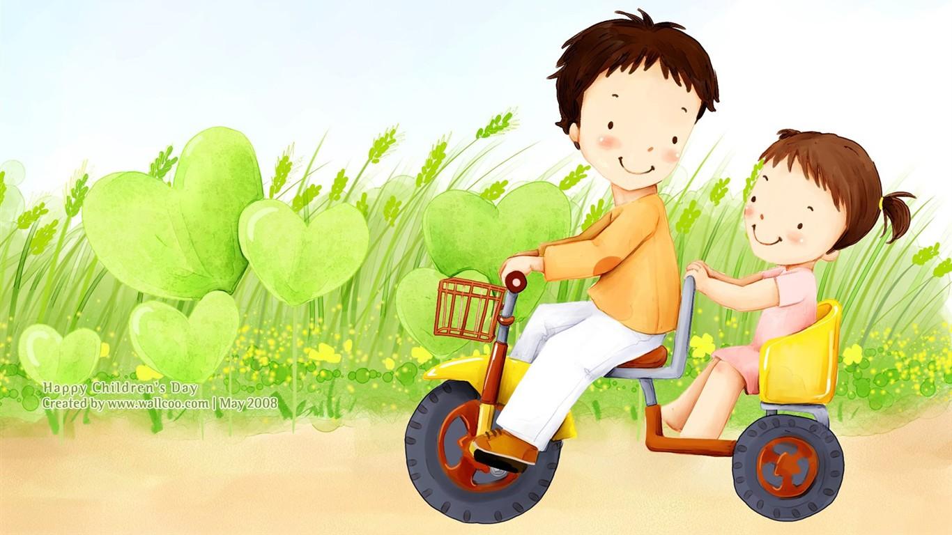 Description : lovely illustrateur pour enfants wallpaper jour #26