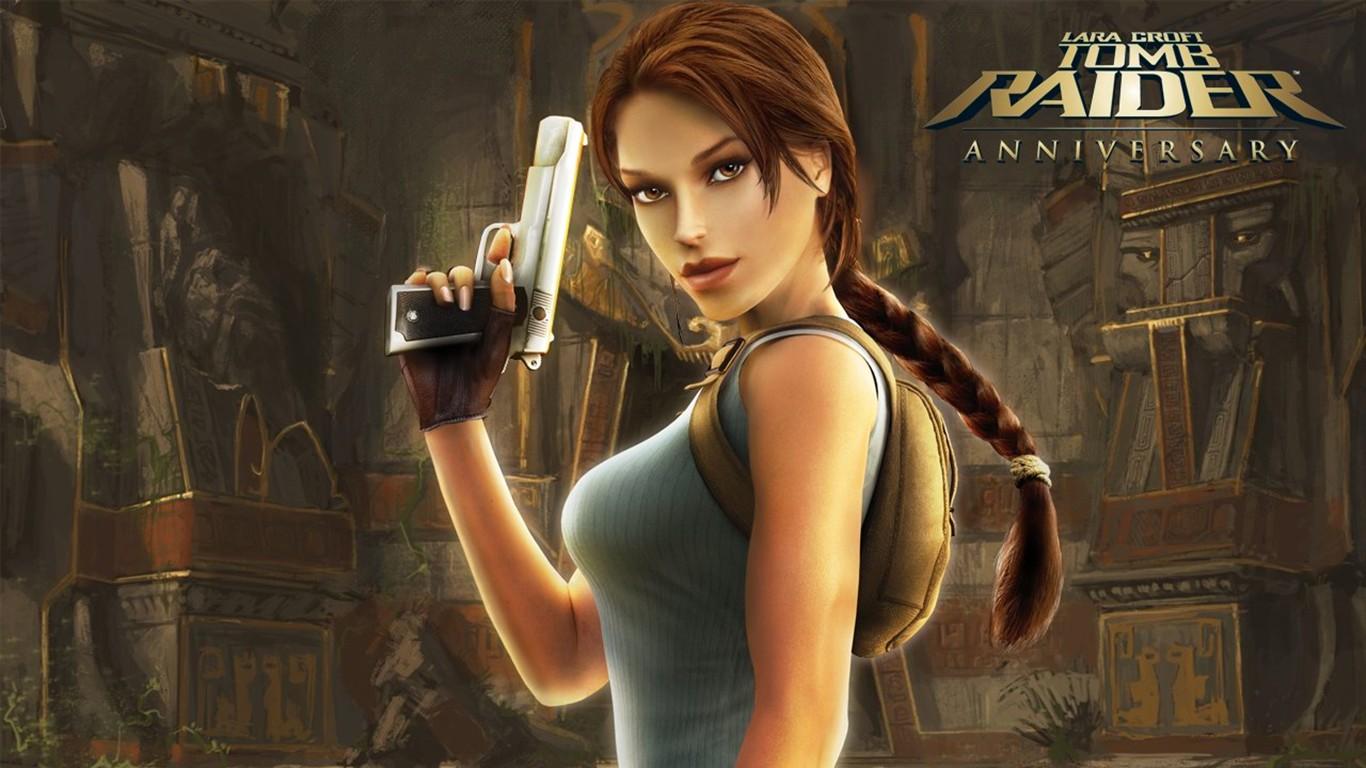 Lara Croft Tomb Raider 10th Anniversary Wallpaper 14
