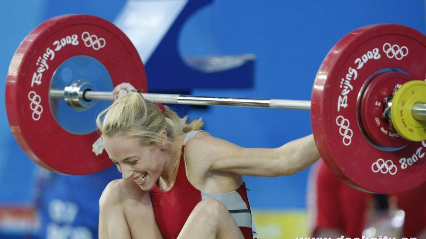 Beijing Olympics Weightlifting Wallpaper 14