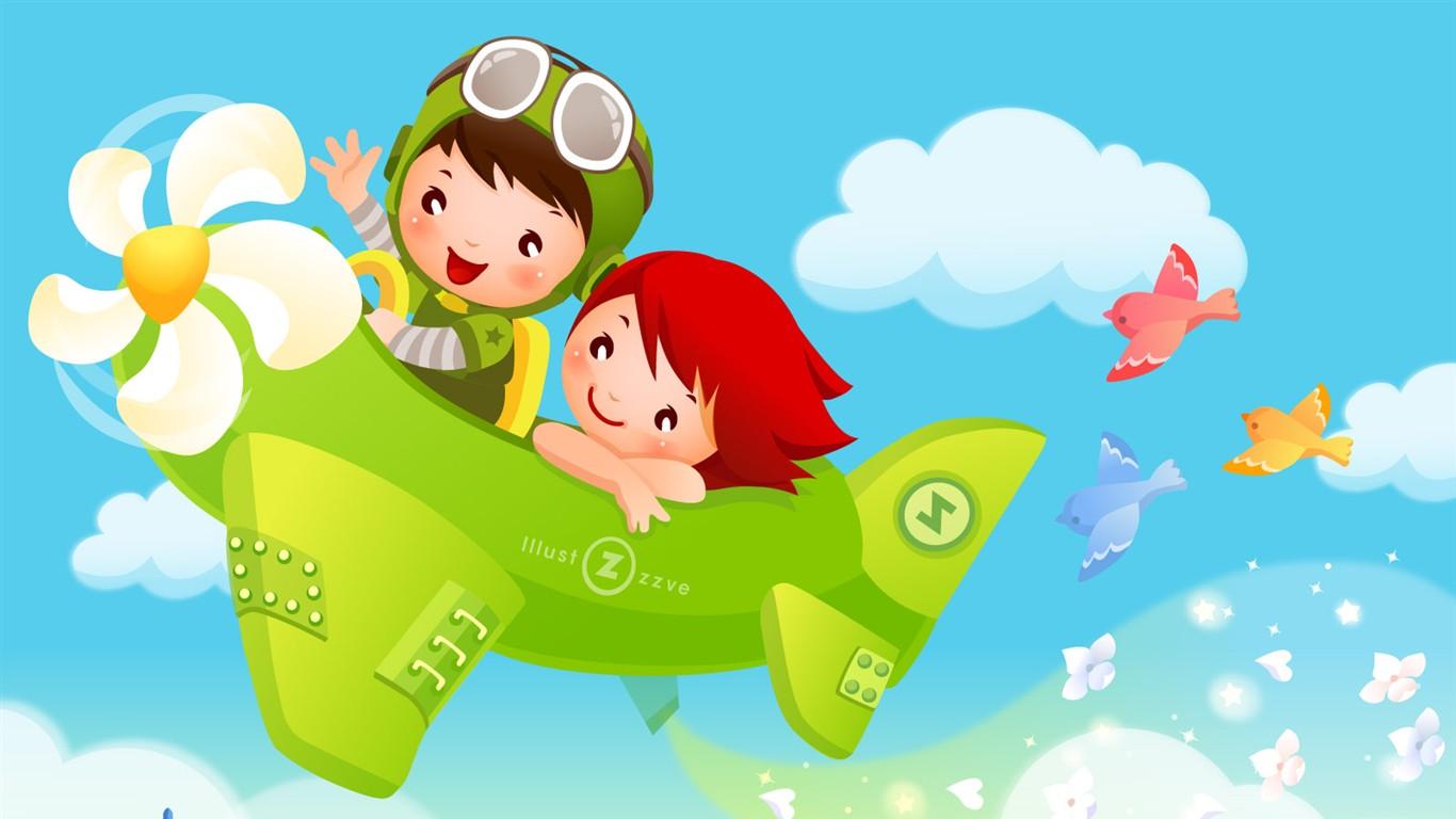 Childhood Dreams Alba Kreslene Tapety 2 1366x768 Wallpaper Ke