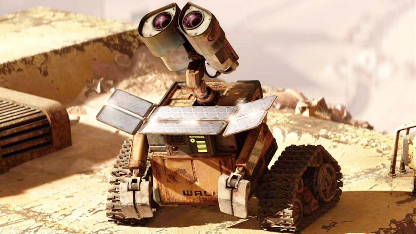 wall e movie essay Wall- e (an acronym that stands for waste allocation load lifter - earth-class) is the titular character and protagonist of the 2008 disney/pixar animated film.