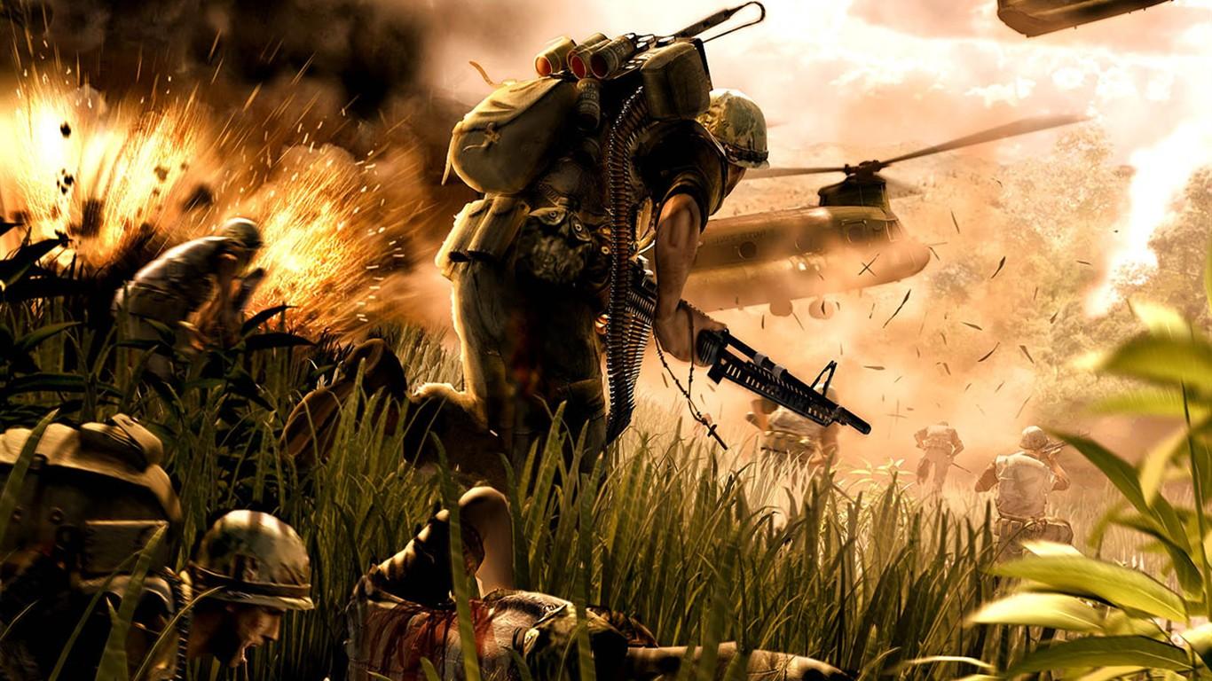 Brutal War Game Wallpaper 7  1366x768 Download