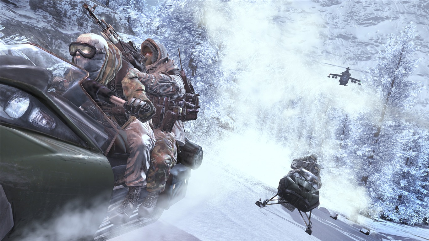 Call Of Duty 6 Modern Warfare 2 Hd Wallpaper 35 1366x768