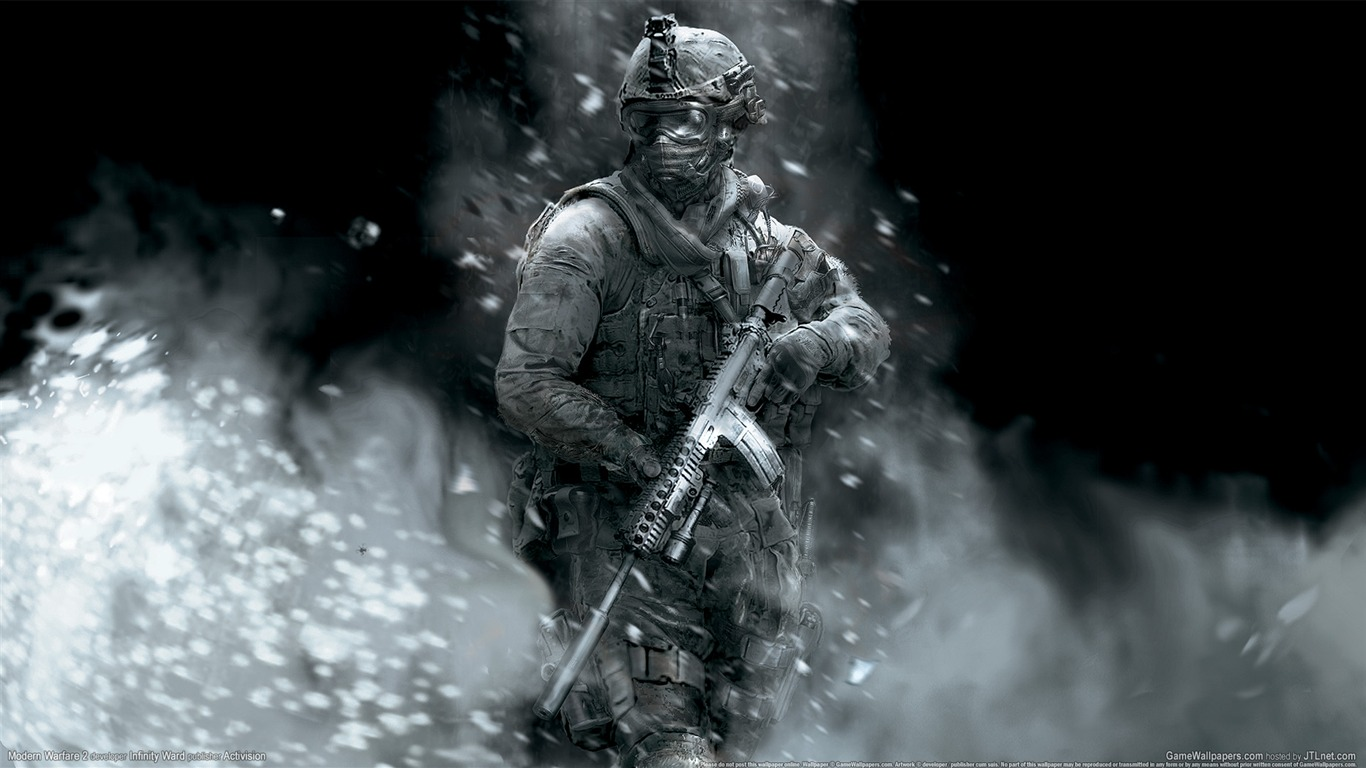 call of duty 6: modern warfare 2 hd wallpaper #39 - 1366x768