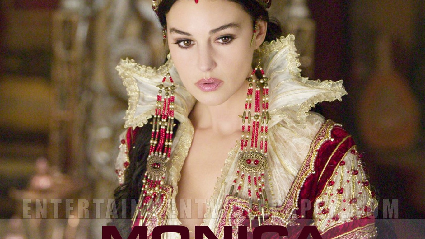 Monica Bellucci 莫妮卡·貝魯奇 #4 - 1366x768 壁紙下載 - Monica ... Monica Bellucci
