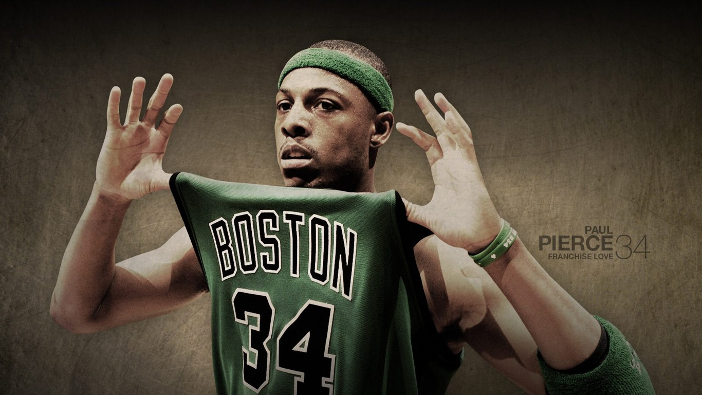 Boston Celtics Offizielle Wallpaper #10 - 1366x768