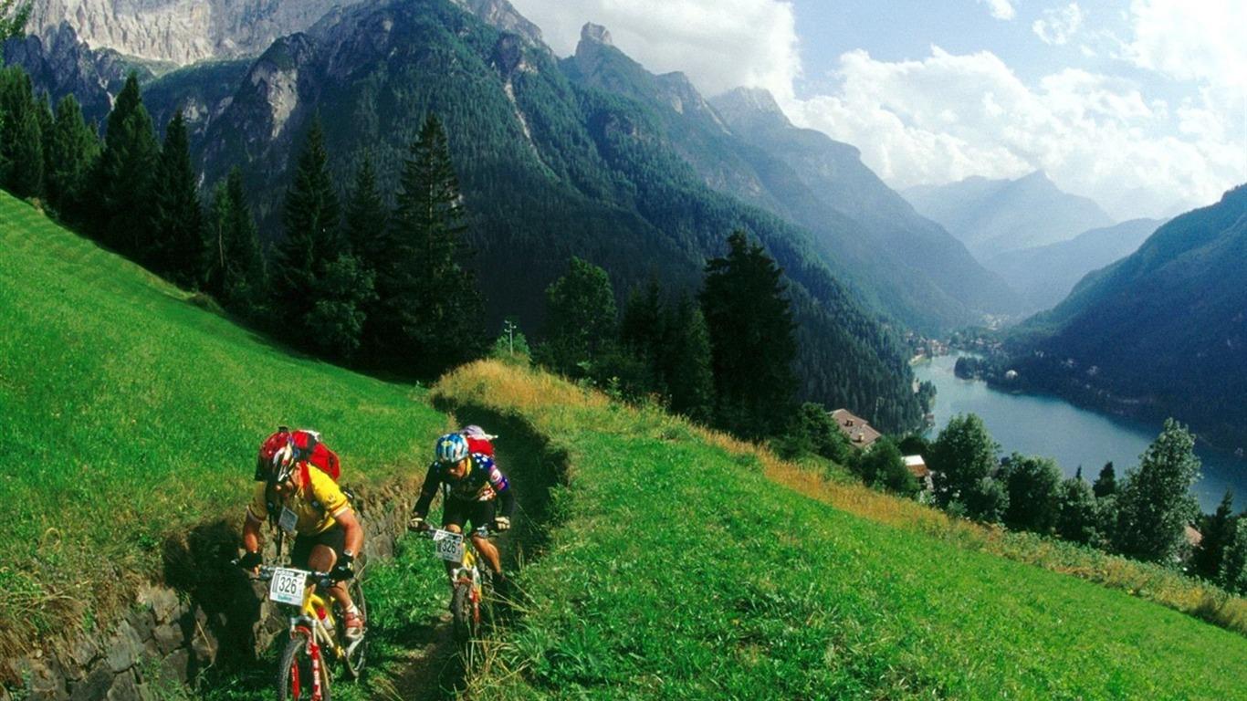 mountain bike wallpaper 2 1366x768 wallpaper download