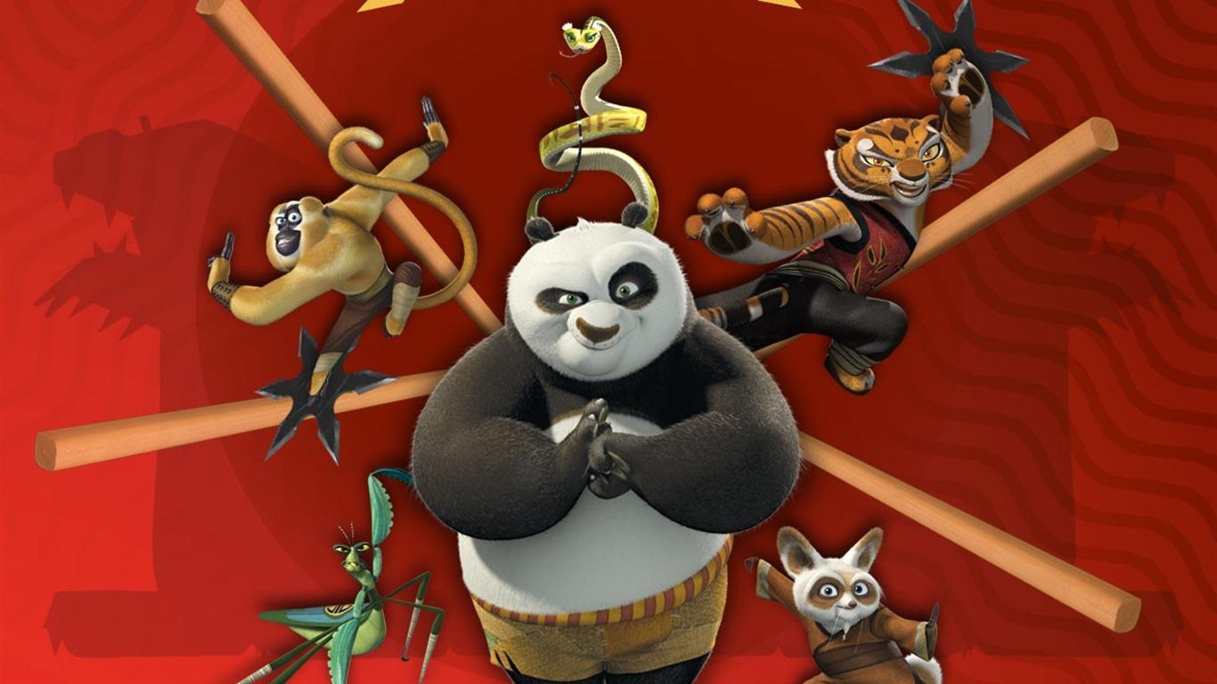 Animation 3d kung fu panda fond d 39 cran 6 1366x768 fond - Kung fu panda 3 telecharger ...