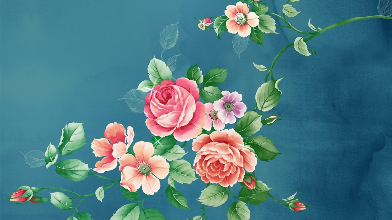 fleur de synth se hd wallpapers 4 1366x768 fond d 39 cran t l charger fleur de synth se hd. Black Bedroom Furniture Sets. Home Design Ideas