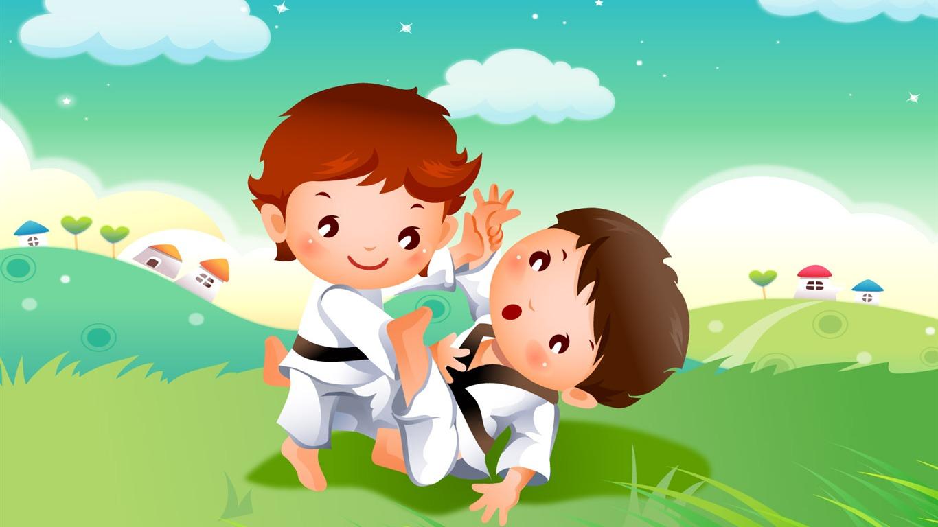 Fondos de Juegos para niños (1) #18 - 1366x768