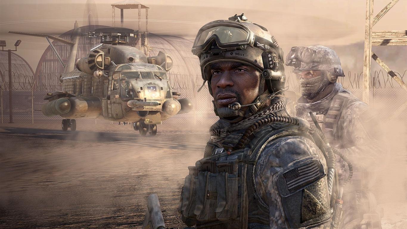 Call Of Duty 6 Modern Warfare 2 Hd Wallpaper 2 34 1366x768