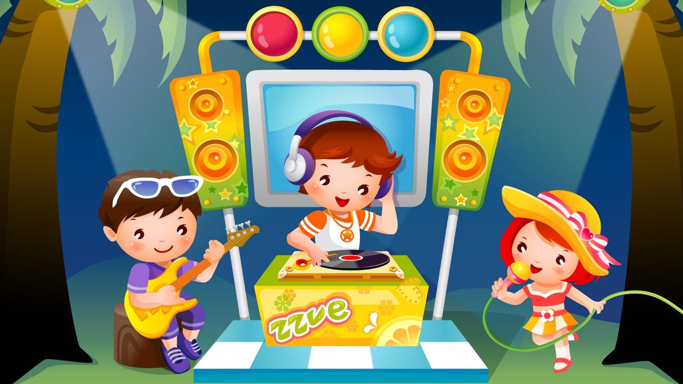 Детская дискотека с игровой программой сценарий