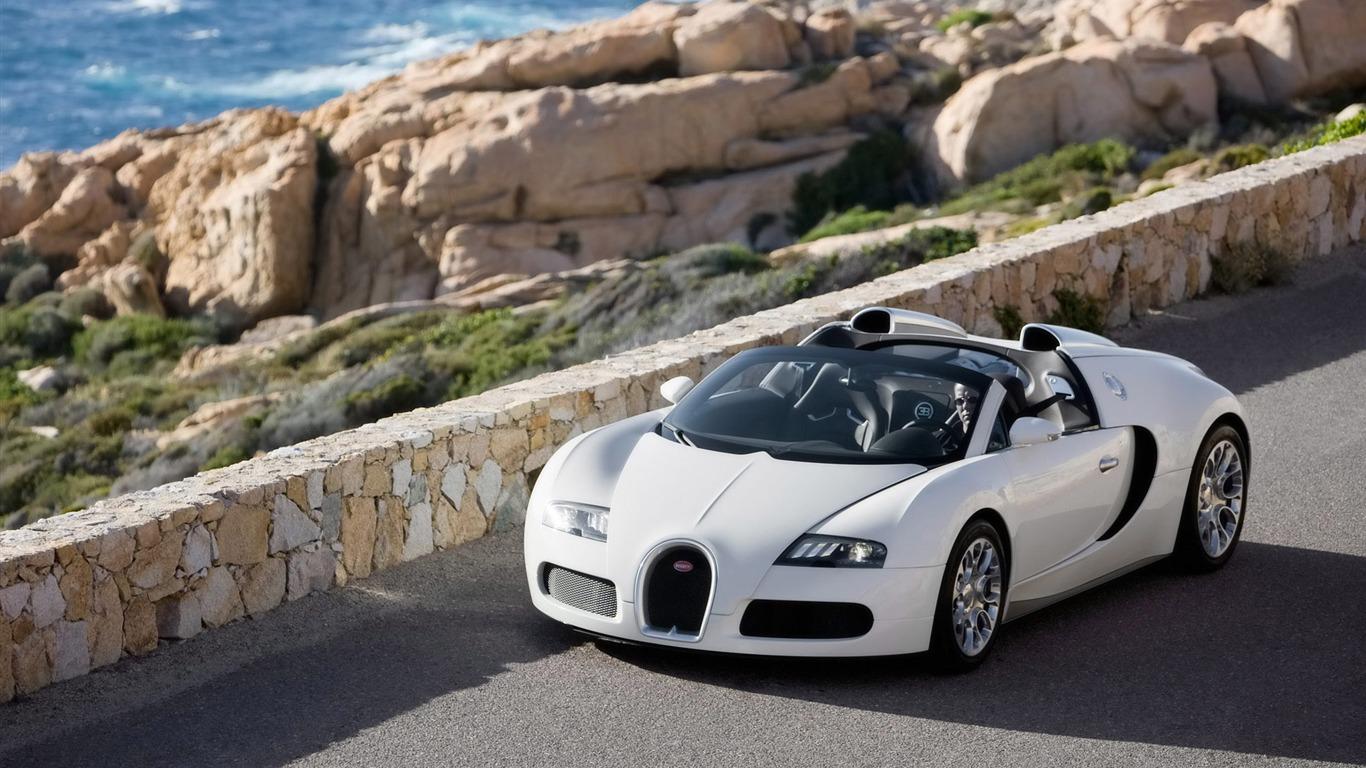壁纸下载   上一张 下一张 图片描述:bugatti veyron 布加迪威龙