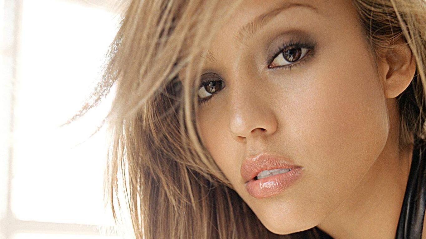 Jessica Alba beau fond d'écran (6) #11 - 1366x768 Fond d'écran ... Jessica Alba