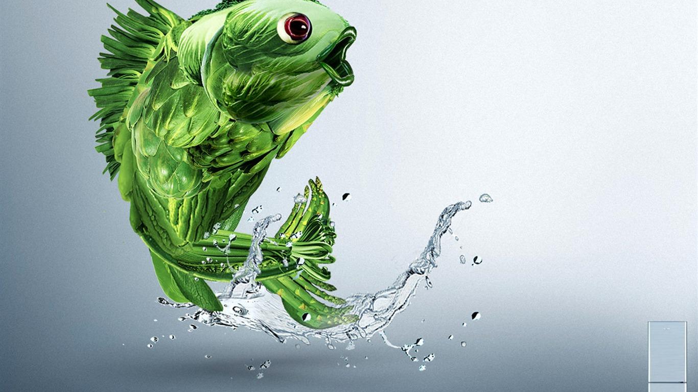 Super Creative Design Wallpaper 16 1366x768 Wallpaper
