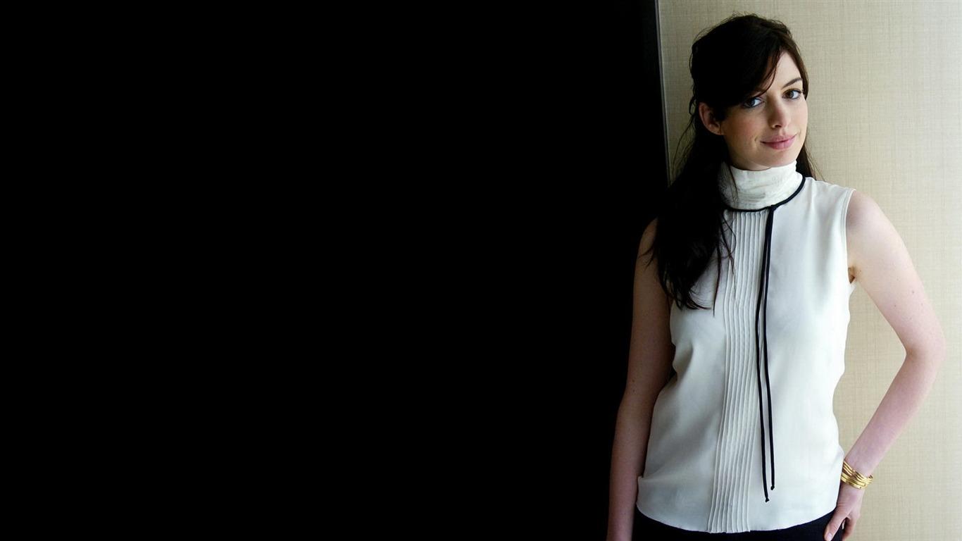앤 해서웨이 아름다운 벽지 (2) #3 - 1366x768 배경 화면 ...