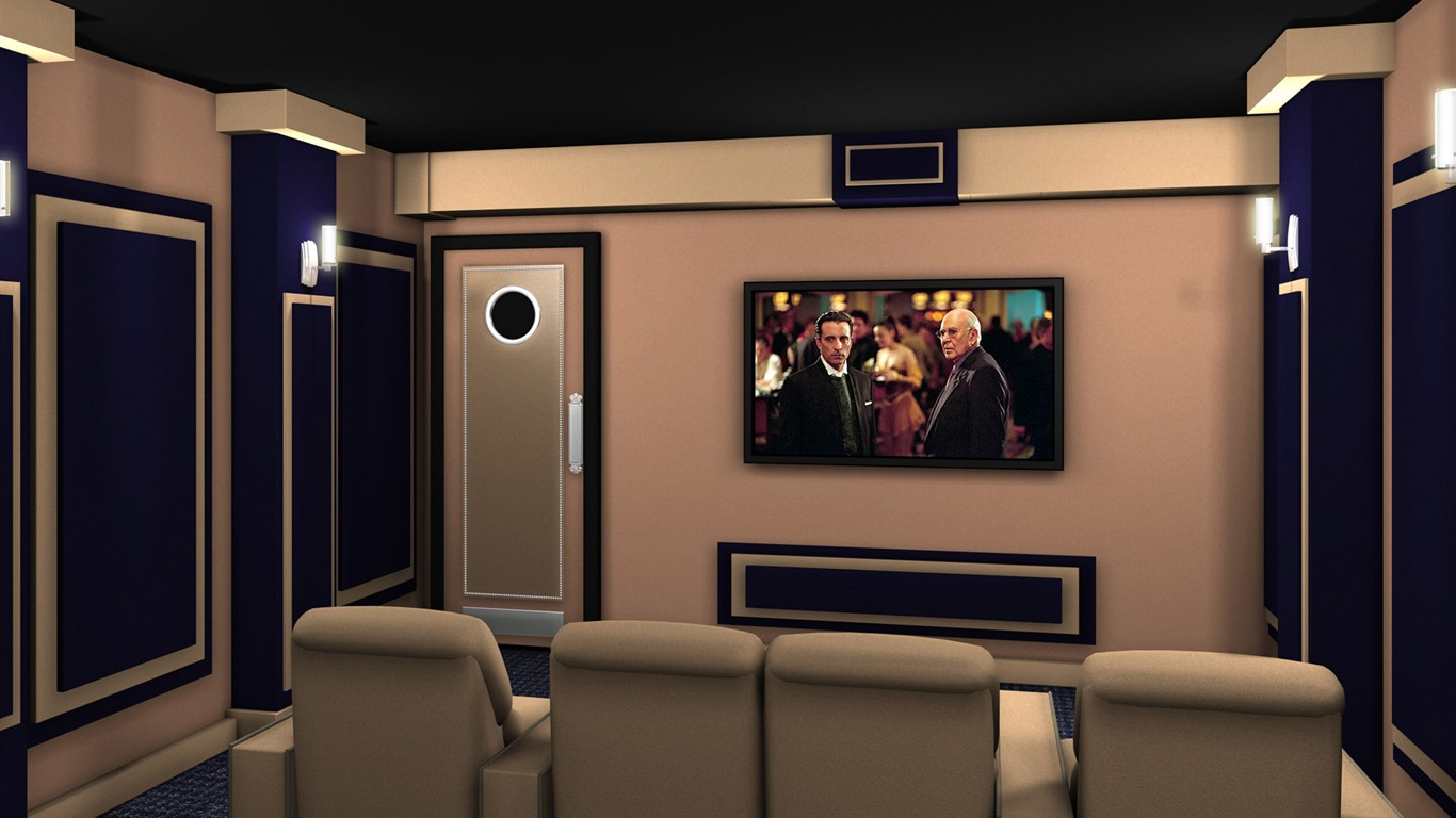Home theater wallpaper 1 17 1366x768 wallpaper - Home theater wallpaper ...