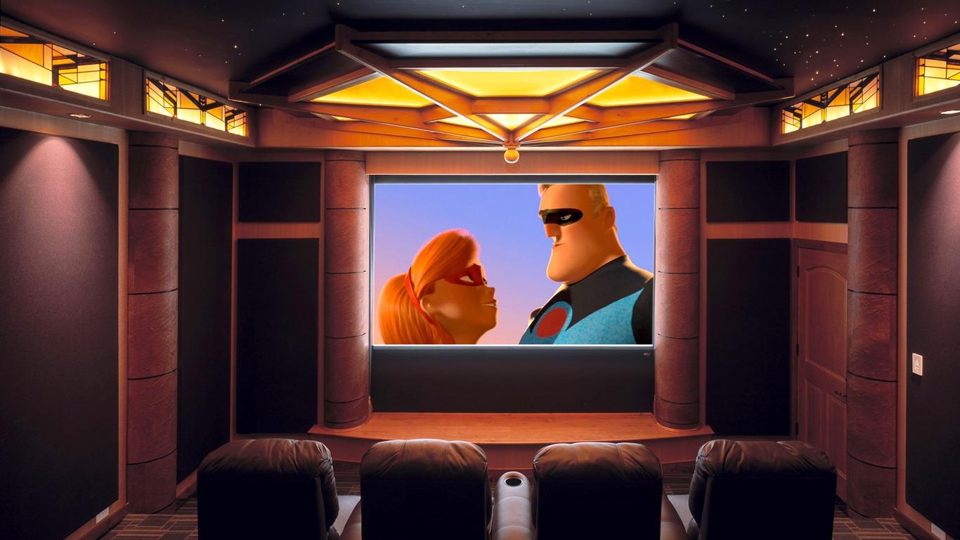 Fondo de pantalla de cine en casa (2) #13 - 1366x768 Fondos de ...