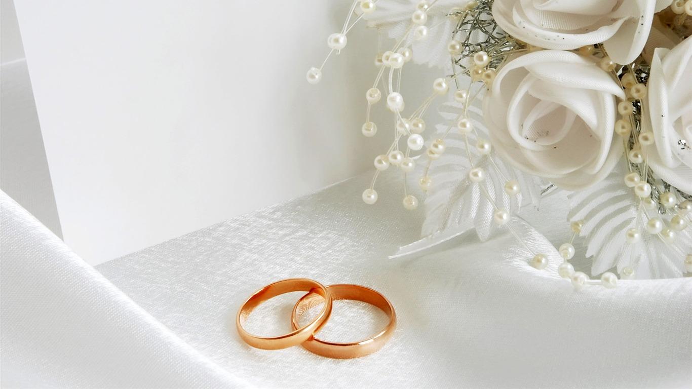 Mariage Fond D écran Hd Télécharger: Mariage Et Papier Peint Anneau De Mariage (2) #4